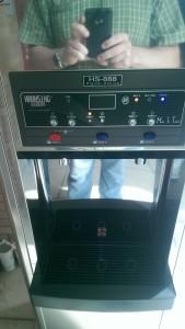 New water machine